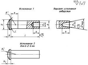 чертеж ГОСТ 12641-80